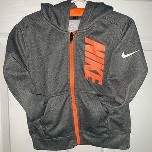 2T - 3T Nike DRI-FIT Hooded Sweatshirt